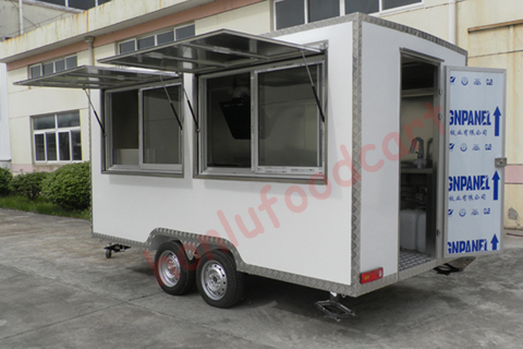 fast pizza oven cake kiosk food truck ice cream food cart prefable house for europe