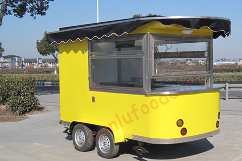 mobile ice cream kiosk